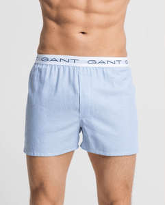 GANT - 2-Box shorts, navy check/strip