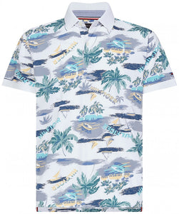 Tommy Hilfiger - Summer Print Regular Polo