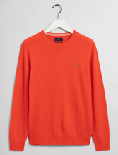 Load image into Gallery viewer, GANT - Superfine Lambswool Crew, Atominc Orange - Tector Menswear