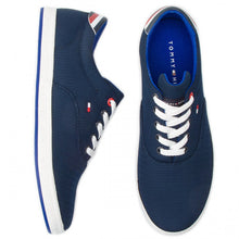 Load image into Gallery viewer, Tommy Hilfiger - Essential Oxford Textile Sneaker, Midnight