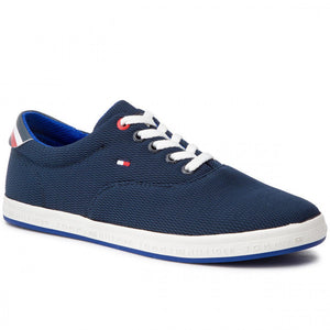 Tommy Hilfiger - Essential Oxford Textile Sneaker, Midnight