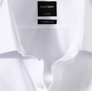 OLYMP -  Luxor, Modern Fit, White