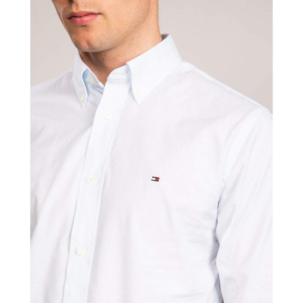 Tommy Hilfiger - Regular Fit Cotton Shirt White