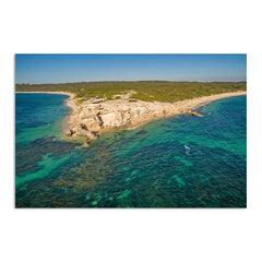 Aerial view of Hamelin Bay in Western Australia