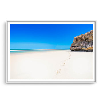 Yanchep Beach on a hot summers day in Western Australia