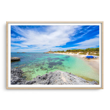 Pinky Beach on Rottnest Island in Western Australia