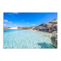 Beautiful blue waters at Sandy Cape on the Coral Coast of Western Australia