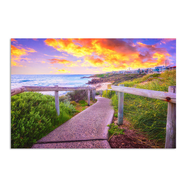 Beach path on the Perth Coast in Western Australia
