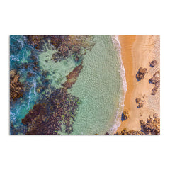 Aerial view of Perth Beach in Western Australia