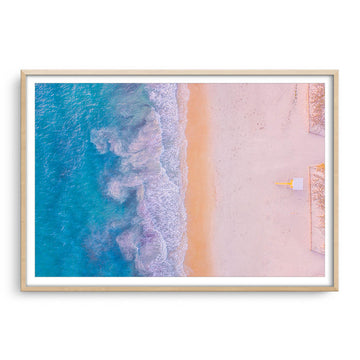 Aerial view of Sorrento Beach in Perth, Western Australia