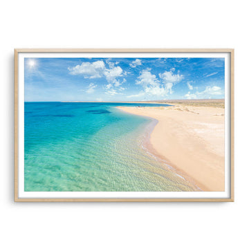 Beautiful colours at Mesa Beach on the Ningaloo Reef, Western Australia
