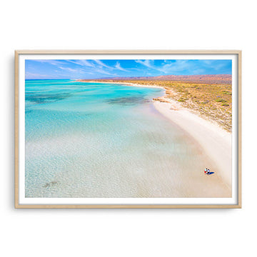 Taking a wander out yonder at Sandy Bay on the Ningaloo Reef, Western Australia