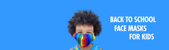 Back to school face masks for kids from The Peoples Mask® Canada