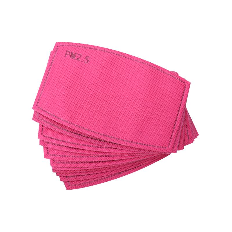 Breast Cancer Pink Face Mask Hot Pink pm2.5 Filter