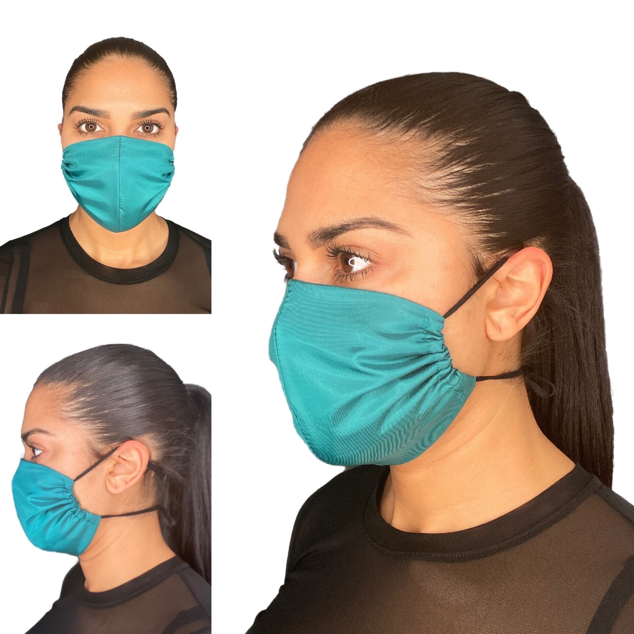 20 Pack Bulk Reusable Face Masks Made In Canada Ocean Blue - The Peoples Mask