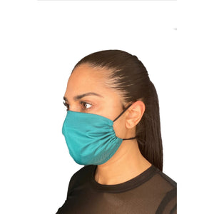 Reusable Overhead Strap Face Masks Made In Canada Ocean Blue - The Peoples Mask