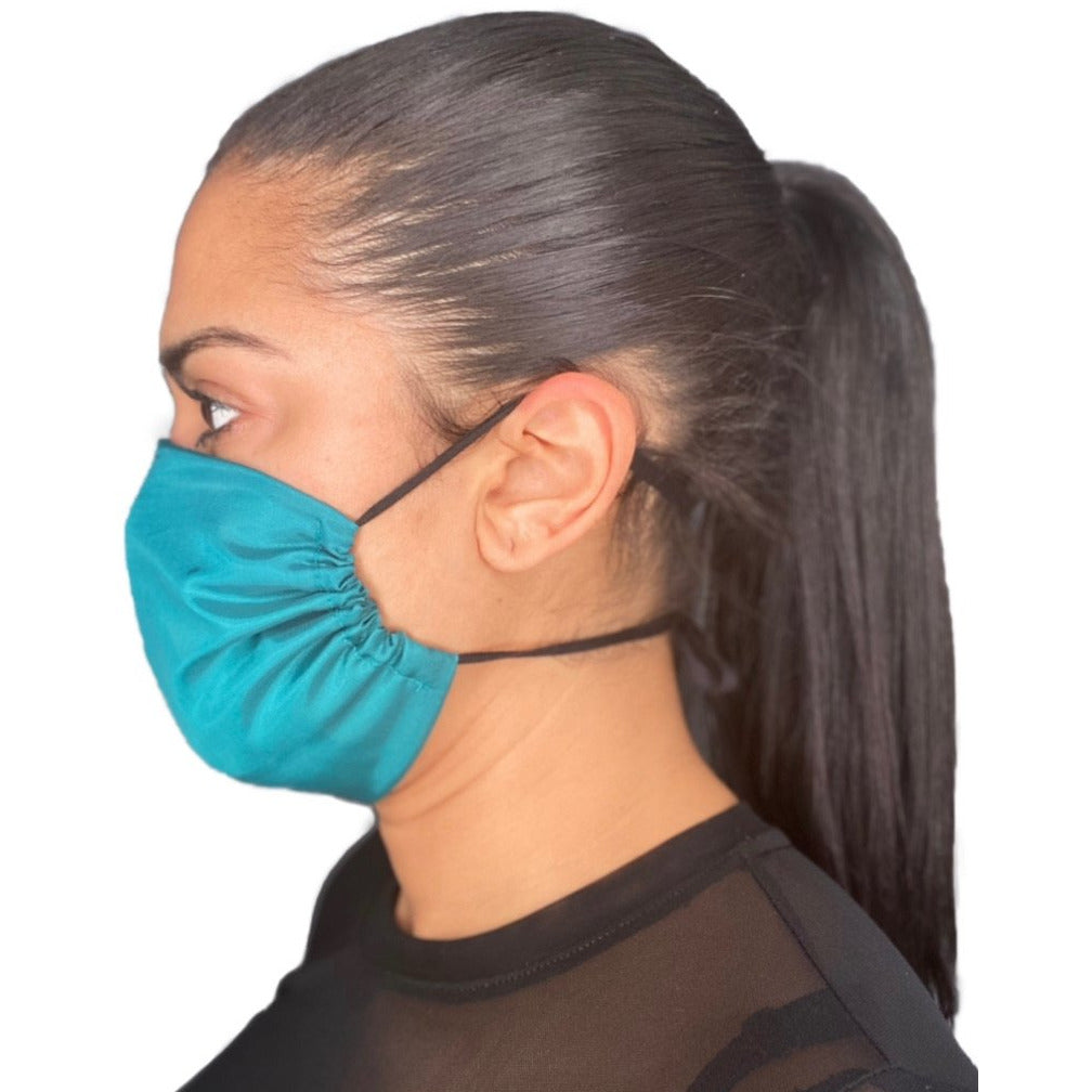 Adult Premium Face Mask Blue | The Peoples Mask - The Peoples Mask