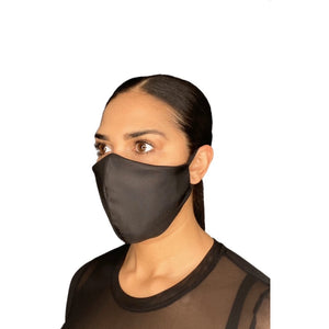 Black Ear Loop Reusable Face Mask | The Peoples Mask - The Peoples Mask