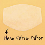 Nano fibre filter for reusable cloth face mask | The Peoples Mask - The Peoples Mask