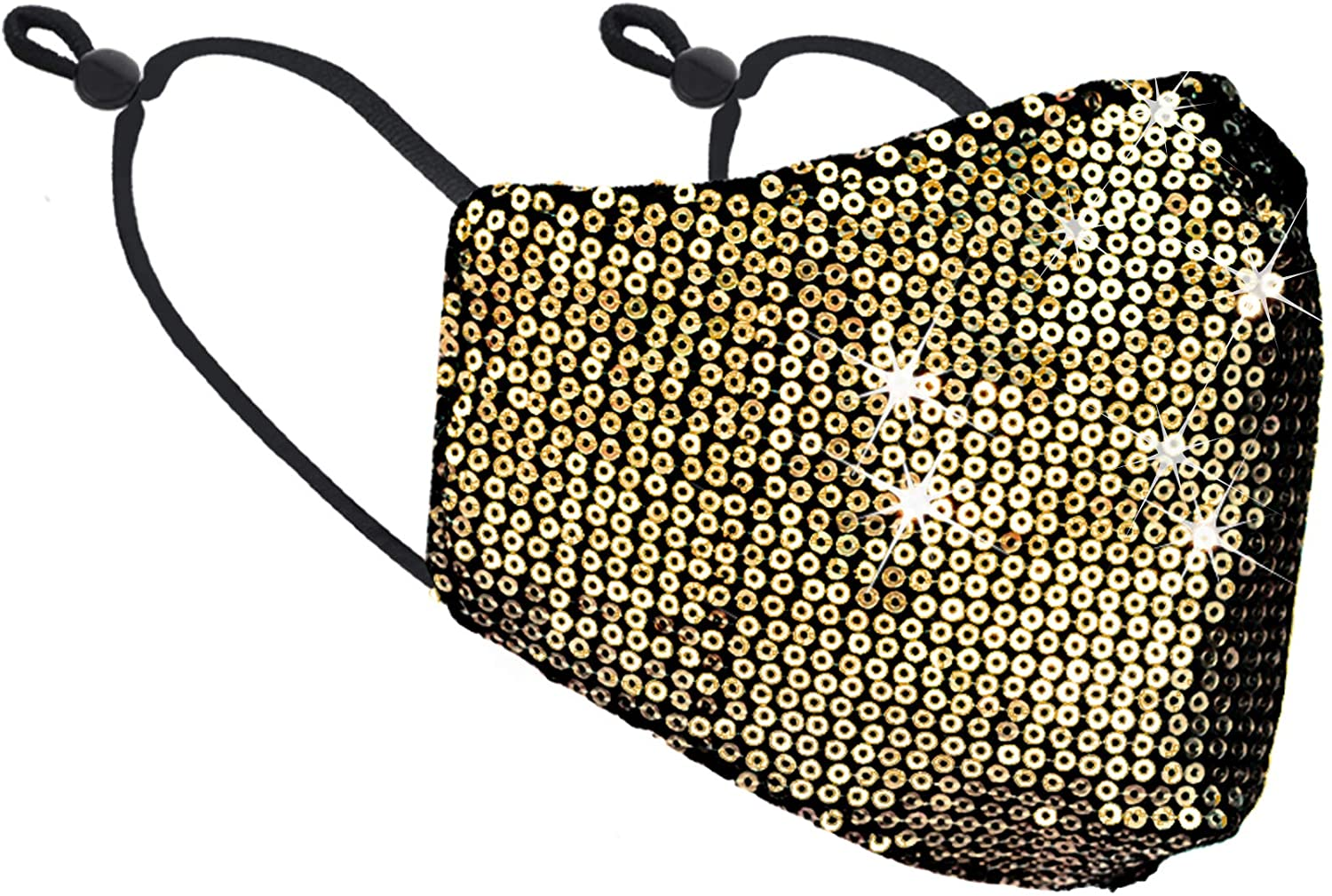 Gold Sequin Face Mask Edmonton - The Peoples Mask