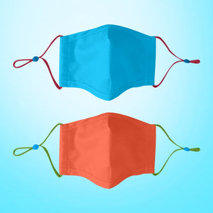 KIDS School Reusable Face Mask Set Nose Wire Filter Pocket| The Peoples Mask