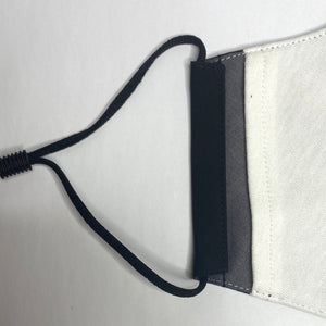 Organic Cotton Face Mask Black Earloop The Peoples Mask Toronto