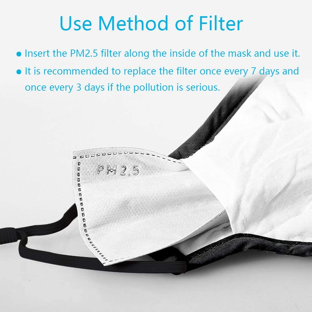 how to insert pm2.5 face mask filter the peoples mask