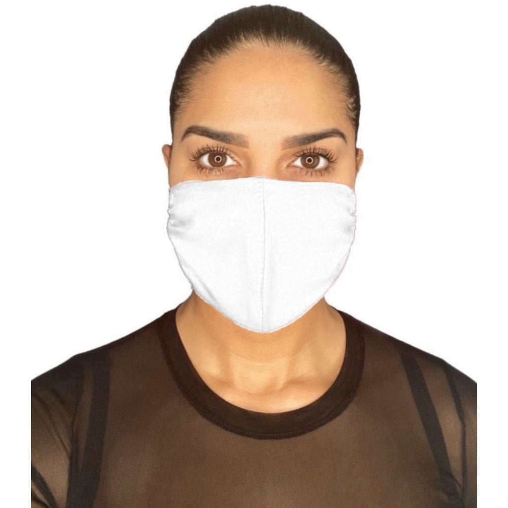 Adult Premium Face Mask White | The Peoples Mask