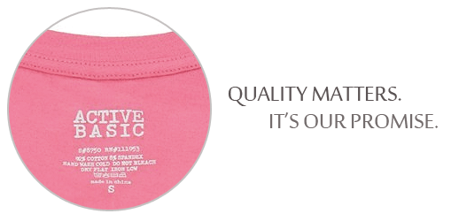 Quality matters. It's our promise