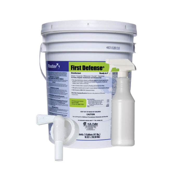 Complete Disinfectant Kit - 5 Gallon