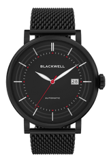 Black Dial with Black Plated Steel and Black Plated Steel Mesh 10111