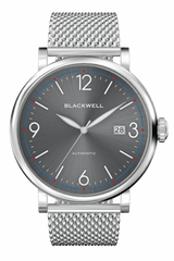 Sunray Grey Dial with Silver Steel and Silver Steel Mesh 10003