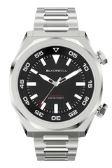 Black Dial with Stainless Steel Case and Stainless Steel Bracelet Van Alen
