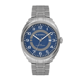 HAMPTONS - BLUE DIAL WITH STAINLESS STEEL CASE AND STAINLESS STEEL BRACELET