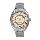 HAMPTONS - SALMON DIAL WITH STAINLESS STEEL CASE AND STAINLESS STEEL BRACELET