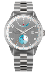Color Touch - Grey Dial With Stainless Steel Case And Stainless Steel Bracelet