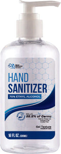 16 oz Hand Sanitizer (Gel-Pump)