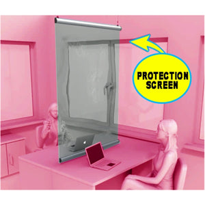Suspended Protective Partitions 18""
