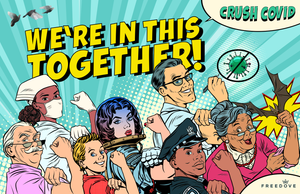 """We're In This Together"" (Poster)"