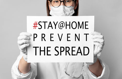 Stay at Home, Stop the Spread