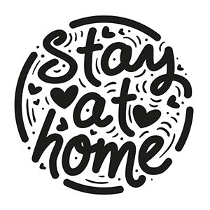 Stay Home Sticker 1