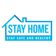 Stay Home Sticker 2