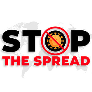 Stop The Spread Poster