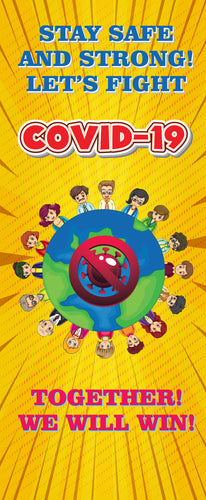 World Together Covid 19 Posters