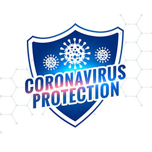 Corona Virus Protection Sticker