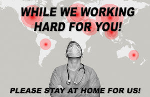 Please Stay At Home For Us