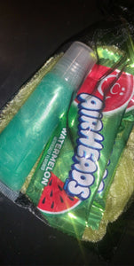 LIME LIPGLOSS BAG