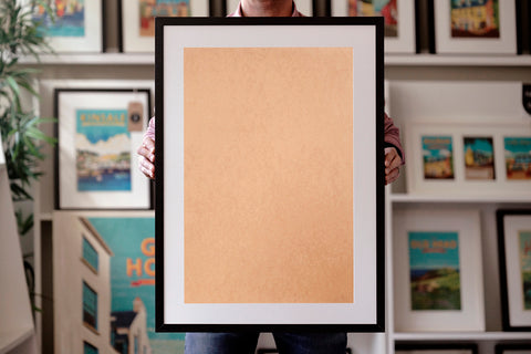 Framed Print Collage Express - 40x60
