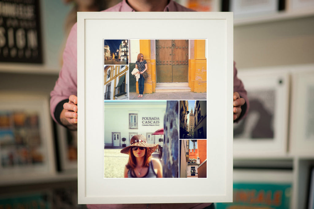 Framed Print Collage Express