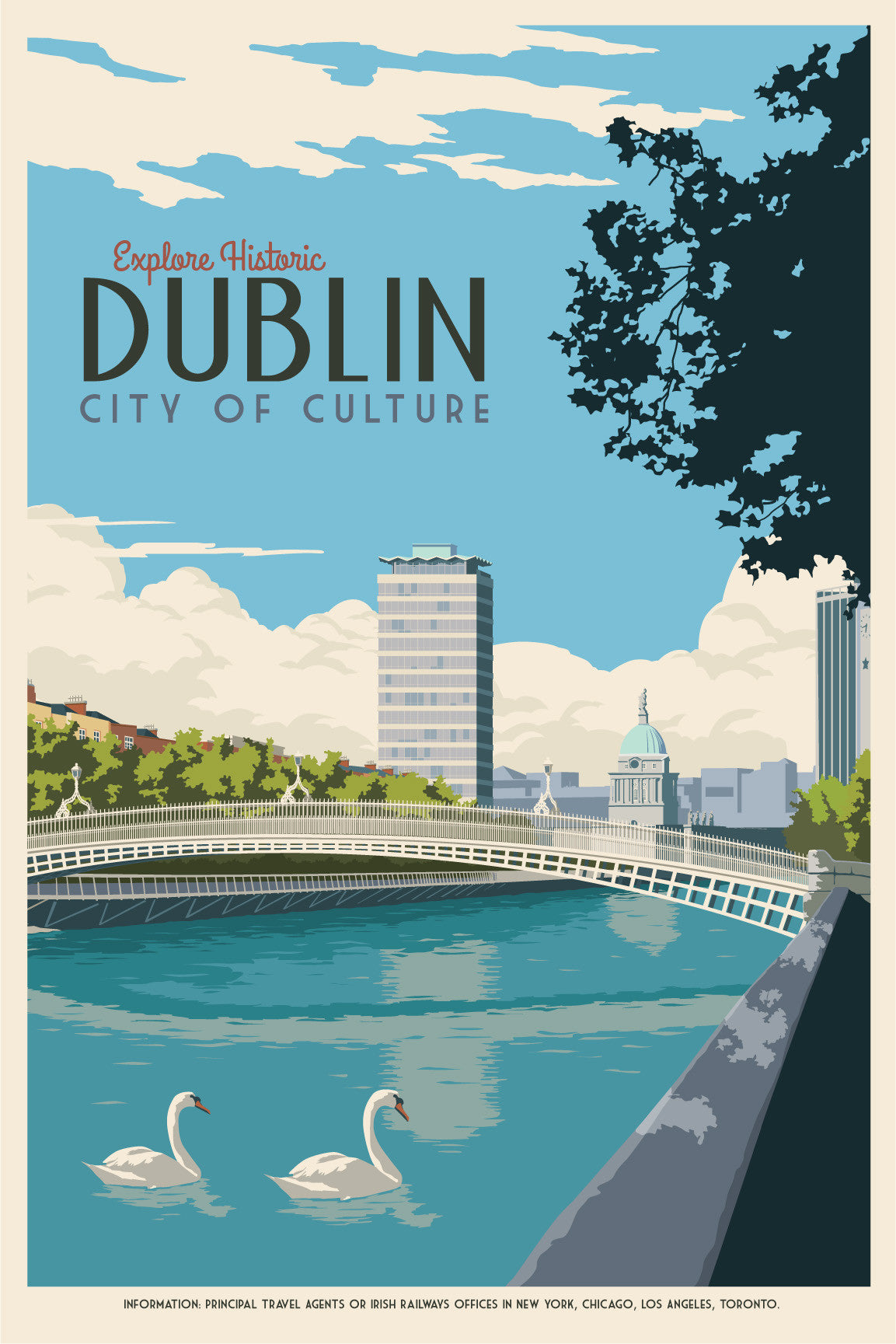 Dublin Vintage Canvas